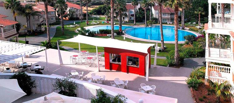 Aparthotel hg jardin de menorca minorca eden viaggi for Aparthotel hg jardin de menorca