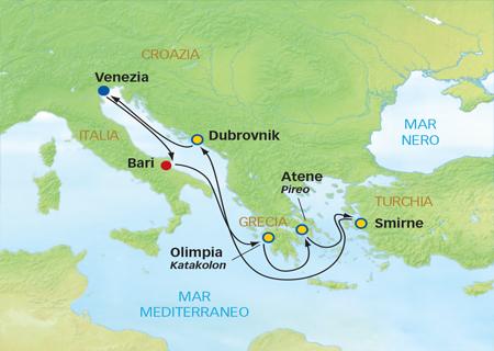 Crociera costa grecia croazia la cura dello yacht for Quali sono le migliori cabine su una nave da crociera