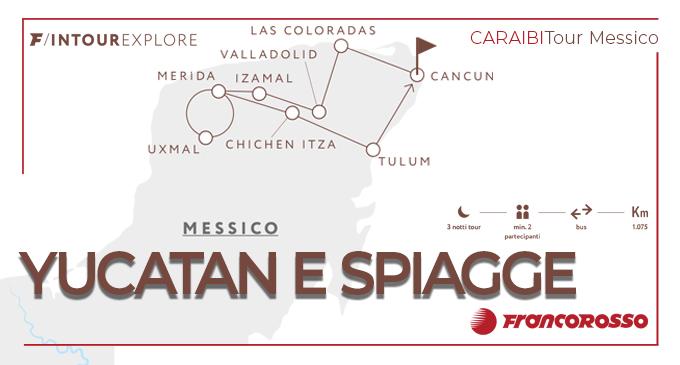 Tour Messico In Tour Explore Yucatan E Spiagge Offerta Franc